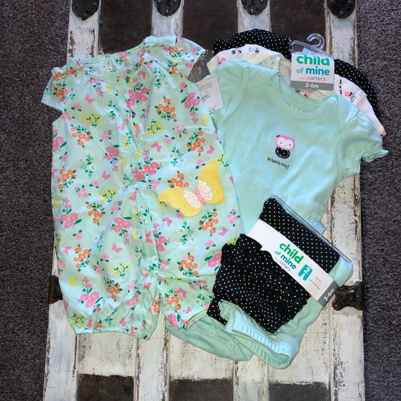 Carter's Other - NWT Child of Mine by Carter's Bundle 3-6 month